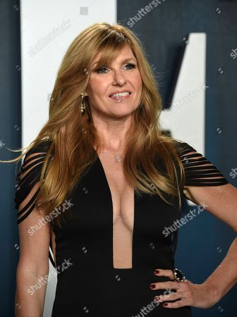 Connie Britton arrives at the Vanity Fair Oscar Party, in Beverly Hills, Calif