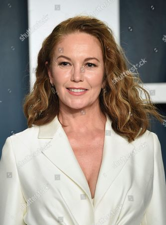 Diane Lane arrives at the Vanity Fair Oscar Party, in Beverly Hills, Calif