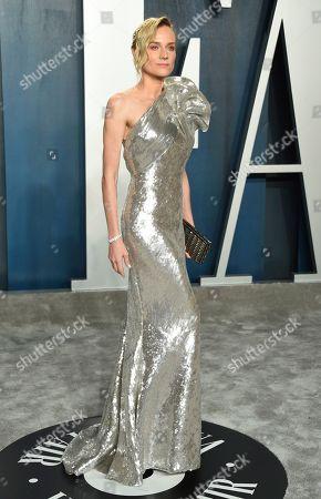 Diane Kruger arrives at the Vanity Fair Oscar Party, in Beverly Hills, Calif