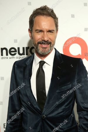 Stock Photo of Eric McCormack arrives at the 2020 Sir Elton John AIDS Foundation Oscar Viewing Party, in West Hollywood, Calif
