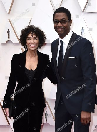 Stephanie Allain, Stephen Bray. Stephanie Allain, left, and Stephen Bray arrive at the Oscars, at the Dolby Theatre in Los Angeles