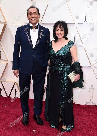 Wes Studi, Maura Dhu Studi. Wes Studi, left, and Maura Dhu Studi arrive at the Oscars, at the Dolby Theatre in Los Angeles