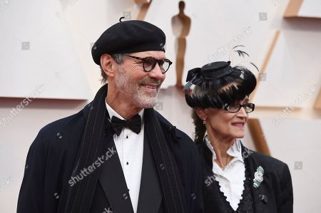 Dennis Gassner, Amy Gassner. Dennis Gassner, left, and Amy Gassner arrive at the Oscars, at the Dolby Theatre in Los Angeles