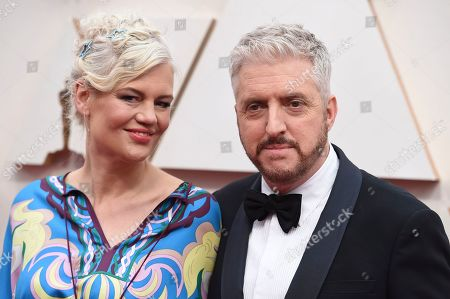 Eva Maywald, Anthony McCarten. Anthony McCarten, right, and Eva Maywald arrive at the Oscars, at the Dolby Theatre in Los Angeles