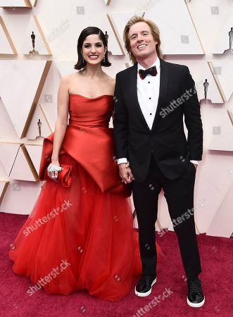Kiana Madani, Bryan Buckley. Kiana Madani and director Bryan Buckley arrive at the Oscars, at the Dolby Theatre in Los Angeles
