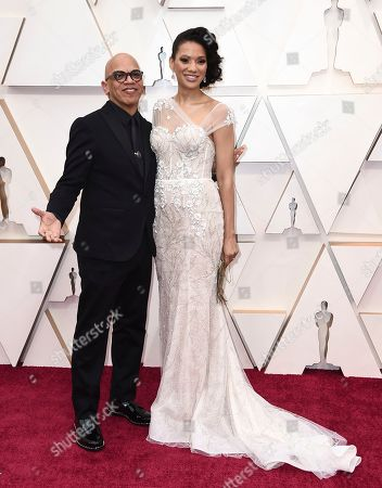 Rickey Minor, Rachel Montez Minor. Rickey Minor, left, and Rachel Montez Minor arrive at the Oscars, at the Dolby Theatre in Los Angeles