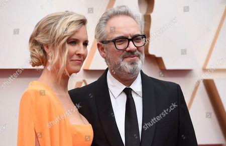 Alison Balsom, Sam Mendes. Alison Balsom, left, and Sam Mendes arrive at the Oscars, at the Dolby Theatre in Los Angeles