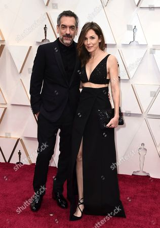 Todd Phillips, Alexandra Kravetz. Todd Phillips, left, and Alexandra Kravetz arrive at the Oscars, at the Dolby Theatre in Los Angeles