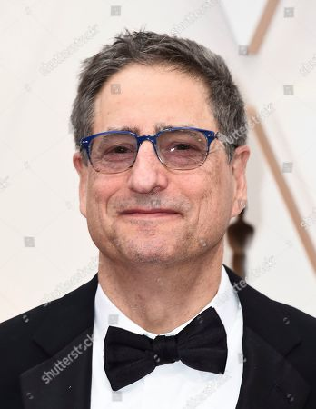 Stock Image of Thomas Rothman, Chairman of Sony Pictures Entertainment, arrives at the Oscars, at the Dolby Theatre in Los Angeles