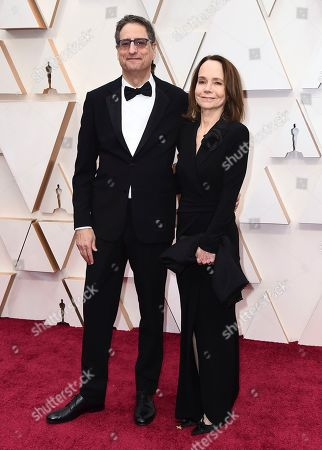 Stock Photo of Thomas Rothman, Jessica Harper. Thomas Rothman, Chairman of Sony Pictures Entertainment, left, and Jessica Harper arrive at the Oscars, at the Dolby Theatre in Los Angeles