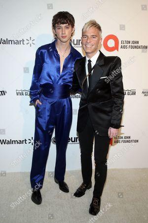 Troye Sivan and Drew Elliott