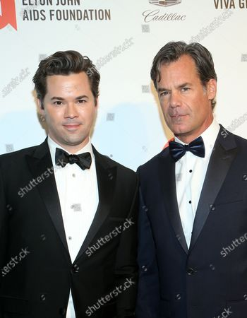 Tuc Watkins and Andrew Rannells