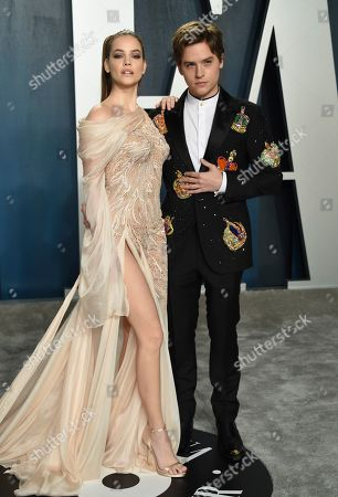 Barbara Palvin, Dylan Sprouse. Barbara Palvin, left, and Dylan Sprouse arrive at the Vanity Fair Oscar Party, in Beverly Hills, Calif