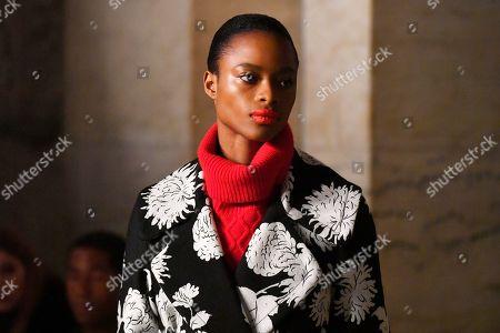 Editorial photo of Oscar De La Renta show, Runway, Fall Winter 2020, New York Fashion Week, USA - 10 Feb 2020
