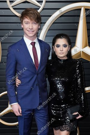 Stock Image of Calum Worthy and Celesta DeAstis