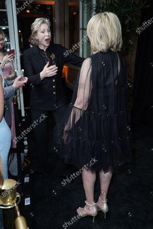 Martha Stewart and Jane Lynch