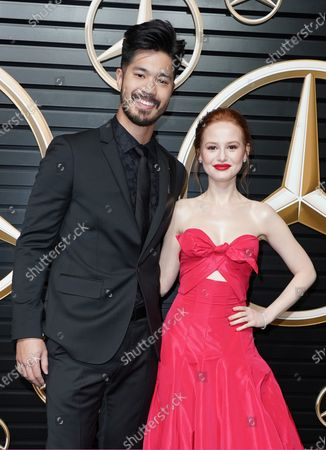 Stock Picture of Ross Butler and Madelaine Petsch