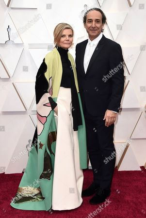 Dominique Lemonnier, Alexandre Desplat. Dominique Lemonnier, left, and Alexandre Desplat arrive at the Oscars, at the Dolby Theatre in Los Angeles
