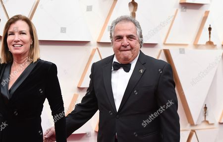 Ann Gianopulos, Jim Gianopulos. Ann Gianopulos, left, and Jim Gianopulos arrive at the Oscars, at the Dolby Theatre in Los Angeles