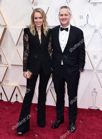 Stock Photo of Lynette Howell Taylor, Graham Taylor. Lynette Howell Taylor, left, and Graham Taylor arrive at the Oscars, at the Dolby Theatre in Los Angeles