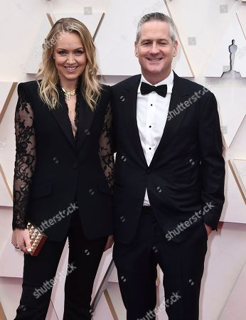 Lynette Howell Taylor, Graham Taylor. Lynette Howell Taylor, left, and Graham Taylor arrive at the Oscars, at the Dolby Theatre in Los Angeles