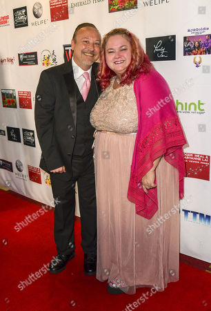 Stock Picture of Keith Coogan and Pinky Coogan