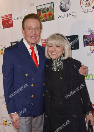 Stock Picture of Sandy Martindale and Wink Martindale