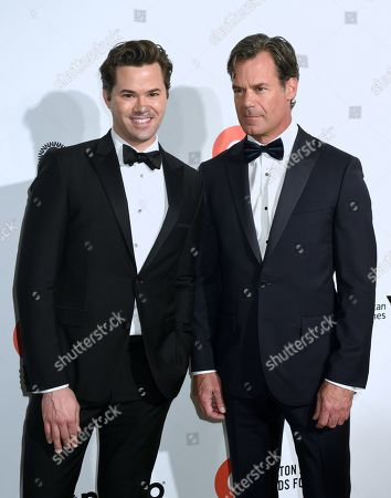 Stock Picture of Andrew Rannells, Tuc Watkins