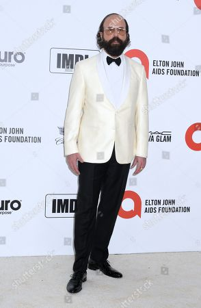 Editorial picture of Elton John AIDS Foundation Oscar Viewing Party, Los Angeles, USA - 09 Feb 2020