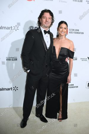 JC Chasez and Jennifer Huyoung