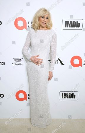 Judith Light arrives at the 2020 Elton John AIDS Foundation Oscar Viewing Party, in West Hollywood, Calif
