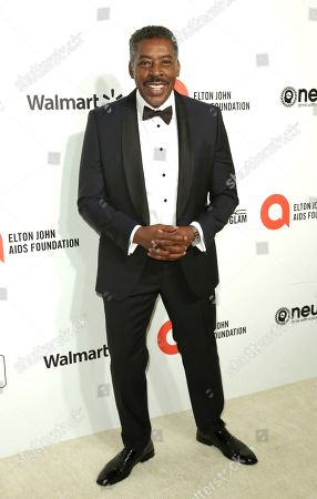 Ernie Hudson arrives at the 2020 Elton John AIDS Foundation Oscar Viewing Party, in West Hollywood, Calif