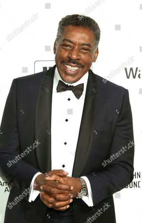 Stock Picture of Ernie Hudson arrives at the 2020 Elton John AIDS Foundation Oscar Viewing Party, in West Hollywood, Calif