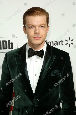 Cameron Monaghan arrives at the 2020 Elton John AIDS Foundation Oscar Viewing Party, in West Hollywood, Calif