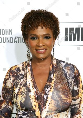 Vanessa Bell Calloway arrives at the 2020 Elton John AIDS Foundation Oscar Viewing Party, in West Hollywood, Calif