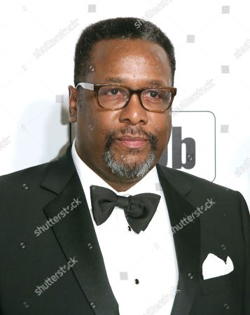 Stock Picture of Wendell Pierce arrives at the 2020 Elton John AIDS Foundation Oscar Viewing Party, in West Hollywood, Calif
