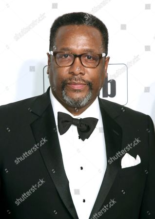 Stock Photo of Wendell Pierce arrives at the 2020 Elton John AIDS Foundation Oscar Viewing Party, in West Hollywood, Calif