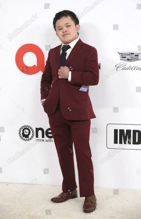 Editorial picture of 2020 Elton John AIDS Foundation Oscar Viewing Party, West Hollywood, USA - 09 Feb 2020