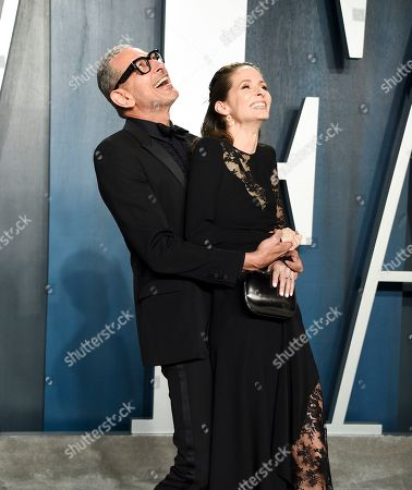Stock Image of Jeff Goldblum and Emilie Livingston
