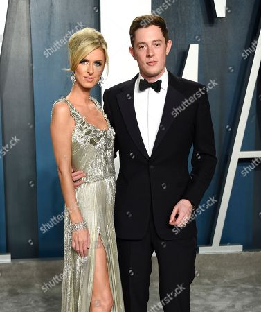 Stock Image of Nicky Hilton Rothschild and James Rothschild