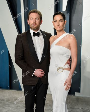 Stock Picture of Caleb Followill and Lily Aldridge