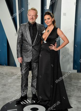 Stock Image of Jared Harris and Allegra Riggio