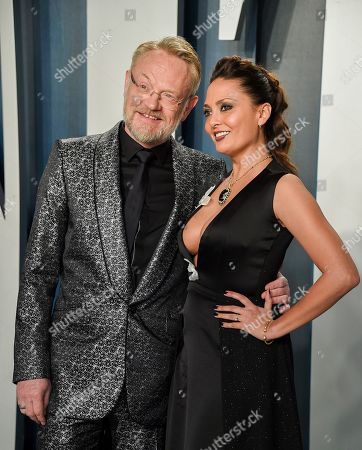 Jared Harris and Allegra Riggio