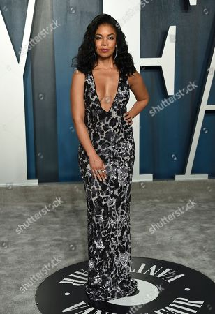 Stock Image of Susan Kelechi Watson arrives at the Vanity Fair Oscar Party, in Beverly Hills, Calif