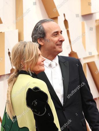 Dominique Lemonnier and Alexandre Desplat