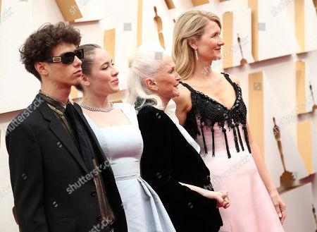 Ellery Harper, Jaya Harper, Diane Ladd and Laura Dern