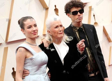 Jaya Harper, Diane Ladd and Ellery Harper