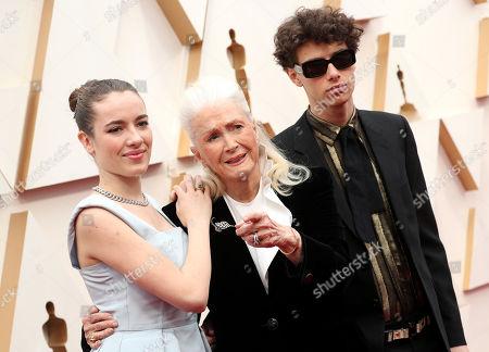 Stock Image of Jaya Harper, Diane Ladd and Ellery Harper