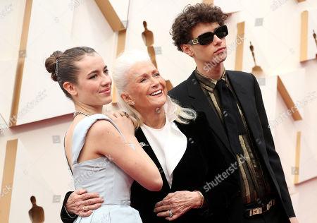 Stock Photo of Jaya Harper, Diane Ladd and Ellery Harper