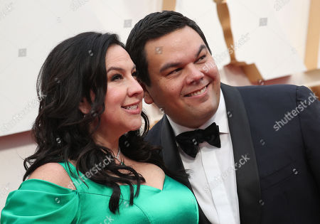 Stock Picture of Kristen Anderson-Lopez and Robert Lopez